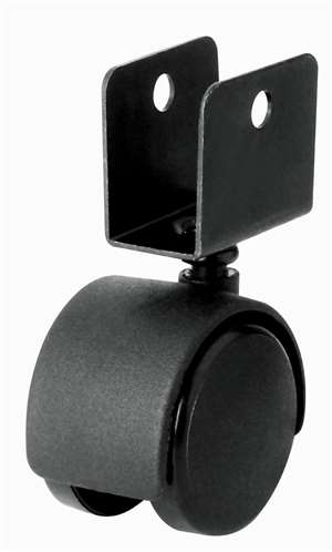 42mm Caster Wheel 55 pounds Swivel Nylon