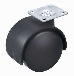 "2"" Inch Caster Wheel 66 pounds Swivel Nylon Top Plate"
