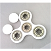 Fidget Hand Spinners Toy White 608zz bearings