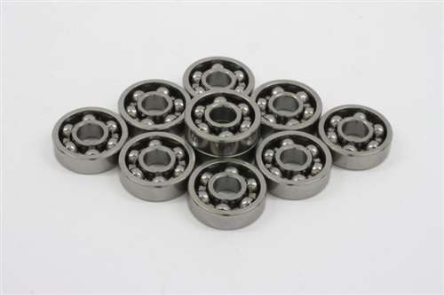 8x14x3.5 Bearing Stainless Steel Shielded Miniature Ball Bearings
