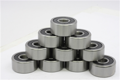 "Set of 10 Ceramic Bearing R155-2RS 5/32"" inch Sealed Bearings"