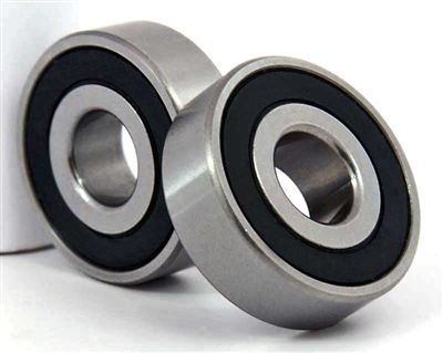 "2 Sealed Bearing 6202-8-2RS 1/2""x35x11"