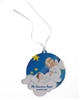 Guardian Angel Baby Crib - Blue
