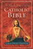 RSV Catholic Bible Large Print Edition Indexed