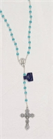 Genuine Crystal Birth Rosary-March