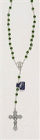 Genuine Crystal Birth Stone Rosary-January