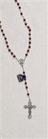 Genuine Crystal Birthstone Rosaries-July