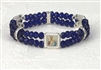 Genuine Crystal Double Stand Bracelets-Holy Family