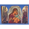 "Glikofilousa (Mary with Jesus)  3"" x 2"""