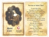Saint Clare Relic Card