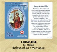 Healing Saints Relic Cards - St.Helen