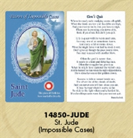 Healing Saints Relic Card - St Jude