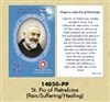 Healing Saints Relic Cards - Padre Pio