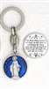 Lady of Grace Enamel Keyring