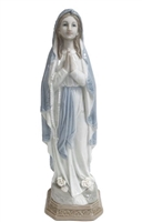 Our Lady of Lourdes Porcelain