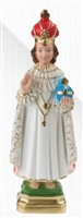Infant Jesus of Prague Plaster Statue