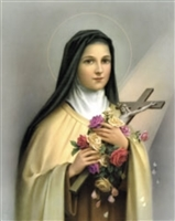 St Therese of the Child Jesus poster