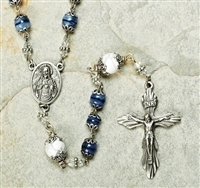 Heirloom Blue Rosary Set