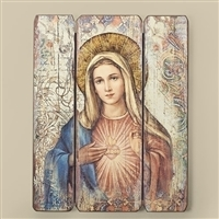Immaculate Heart Plaque