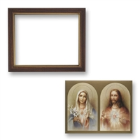 Sacred Hearts Framed
