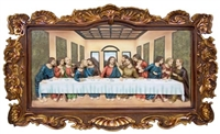 Last Supper Plaque