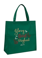 Glory To God In The Highest Tote Bag