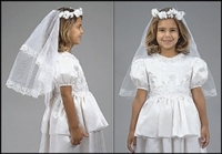First Communion Veil Regal Beauty