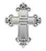 Cross Visor Clips - Lord bless and protect us always