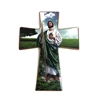 "Saint Jude - Ceramic Crucifix 8.5"" x 6"""