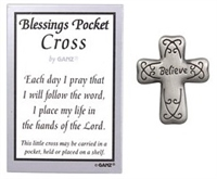 BLESSINGS POCKET TOKEN (BELIEVE) by Ganz