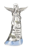 Figurine - A Friend lives in your heart forever