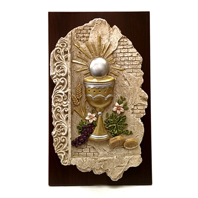 Holy Eucharist Plaque