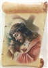 Jesus Carrying the Cross - Ceramic Fridge Magnet