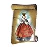 Infant Jesus Ceramic Scroll