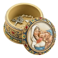 Ave Maria Rosary Box (Rosary Not Included)