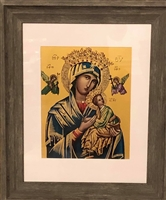 Our Lady of Perpetual Help frame