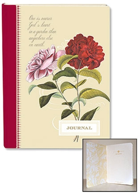 Anna Griffin Journal Red Rose