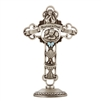 Tabletop Cross Baptized Baby Boy 6 inches