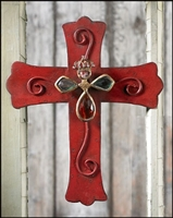 Red Jeweled Cross
