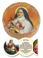 Prayer Tin - Saints for Girls