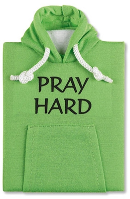 Hoodie Notebook - Pray Hard