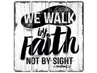 Faith Vintage Wooden Sign