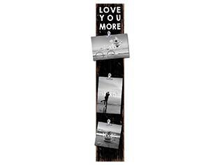 Love You More Vintage Wooden Sign 28 x 5 x 1 in