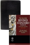 RSV-CE Bible Large Print - Genuine Leather Black