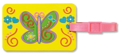 Luggage Tag - Butterfly