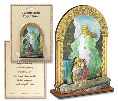 Guardian Angel Prayer Shrine