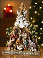 Nativity Figurine Alleluia