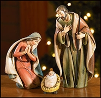 Nativity Set of the Holy Family