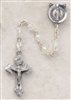 Genuine Silver-Plated Pewter Aurora Borealis Rosary