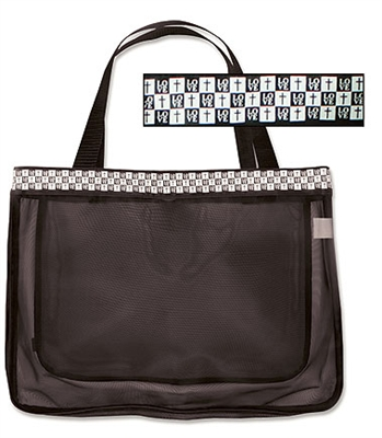 Love Mesh Tote Bag